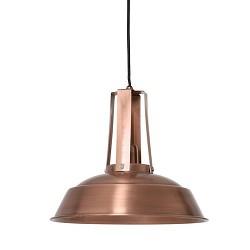 * Industriele hanglamp Inez koper