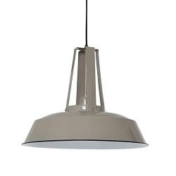 *Industriele hanglamp Inez taupe