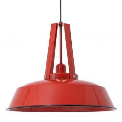 *Industriele hanglamp Inez rood