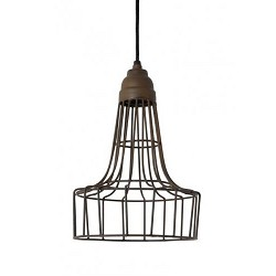 Light & Living hanglamp Babette roest