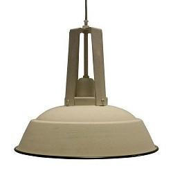 *Industriele hanglamp Inez eettafel