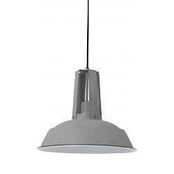 *Landelijke hanglamp Inez grijs-beton