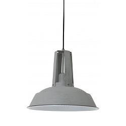 *Industriele hanglamp Inez grijs