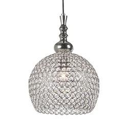 Light & Living hanglamp kristal Elmi