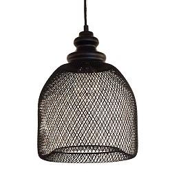 *Gaas hanglamp Karlijn zwart woonkamer