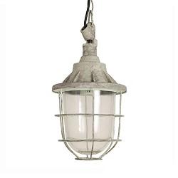 **Industriële hanglamp Quarry grijs kl.