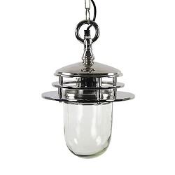Lantaarn zilver hanglamp Maddy keuken