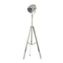 Vloerlamp driepoot Taylor zilver