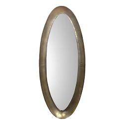 *Landelijke spiegel Soul ovaal antiek