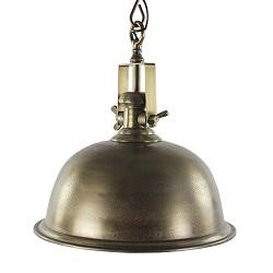 Landelijke hanglamp antiek brons