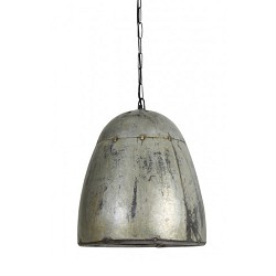 Vintage hanglamp industrie metaal-blik
