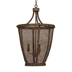 **Robuust landelijke hanglamp Simona br