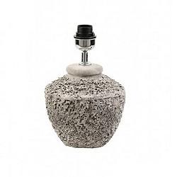 *Grove betonnen tafellamp-voet Toba