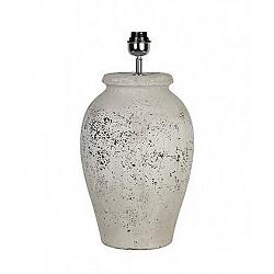 Landelijke stenen lampvoet Vulsini 50 cm