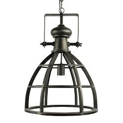 Stoere metalen hanglamp industrie Amy