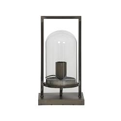Landelijke metalen tafellamp lantaarn