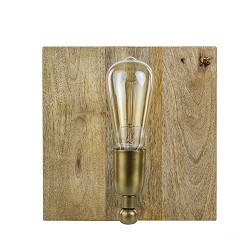 Light & Living wandlamp hout Buxton