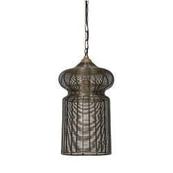Oosterse hanglamp Alysa brons L&L