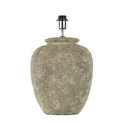 Landelijke stenen lampvoet vaas Lascar