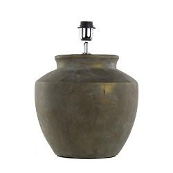 Lampvoet Sumbing vaaslamp brons