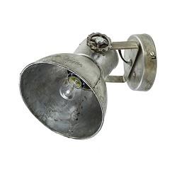 Industriële wandlamp metaal-vintage
