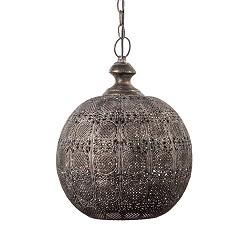 Orientaalse hanglamp Ananya bruin-goud