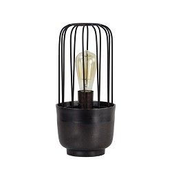 Light & Living tafellamp zwart Corrado