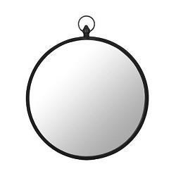 Ronde spiegel metaal 51 cm