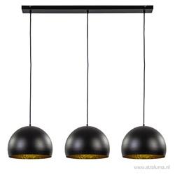 Jaicey hanglamp zwart met goud
