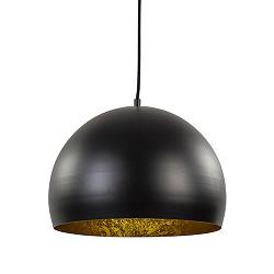 Hanglamp Jaicey bol zwart/goud