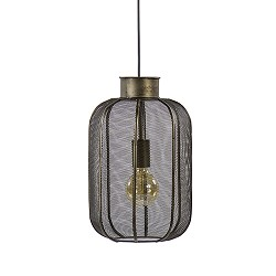 Light Living hanglamp Kimora brons/gaas