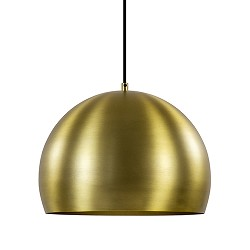 Hanglamp Jaicey mat goud light en living