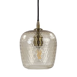 Light & Living hanglamp Danita glas