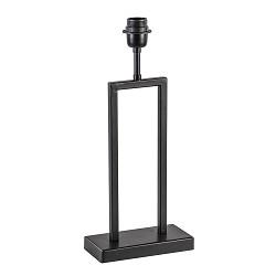Zwart metalen tafellamp Shiva excl. kap