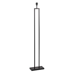 Moderne vloerlamp Shiva zwart excl. kap