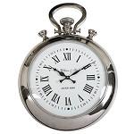 Zilveren klok London klassiek zakhorloge