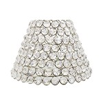 Romantische lampenkap kristallen Ramona