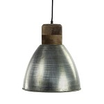 Light Living hanglamp Ismay staal/ hout