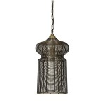 *Oosterse hanglamp Alysa brons L&L