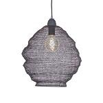 Metalen hanglamp Light Living grijs Nina