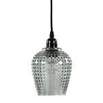 Kleine hanglampgroen glas Light & Living