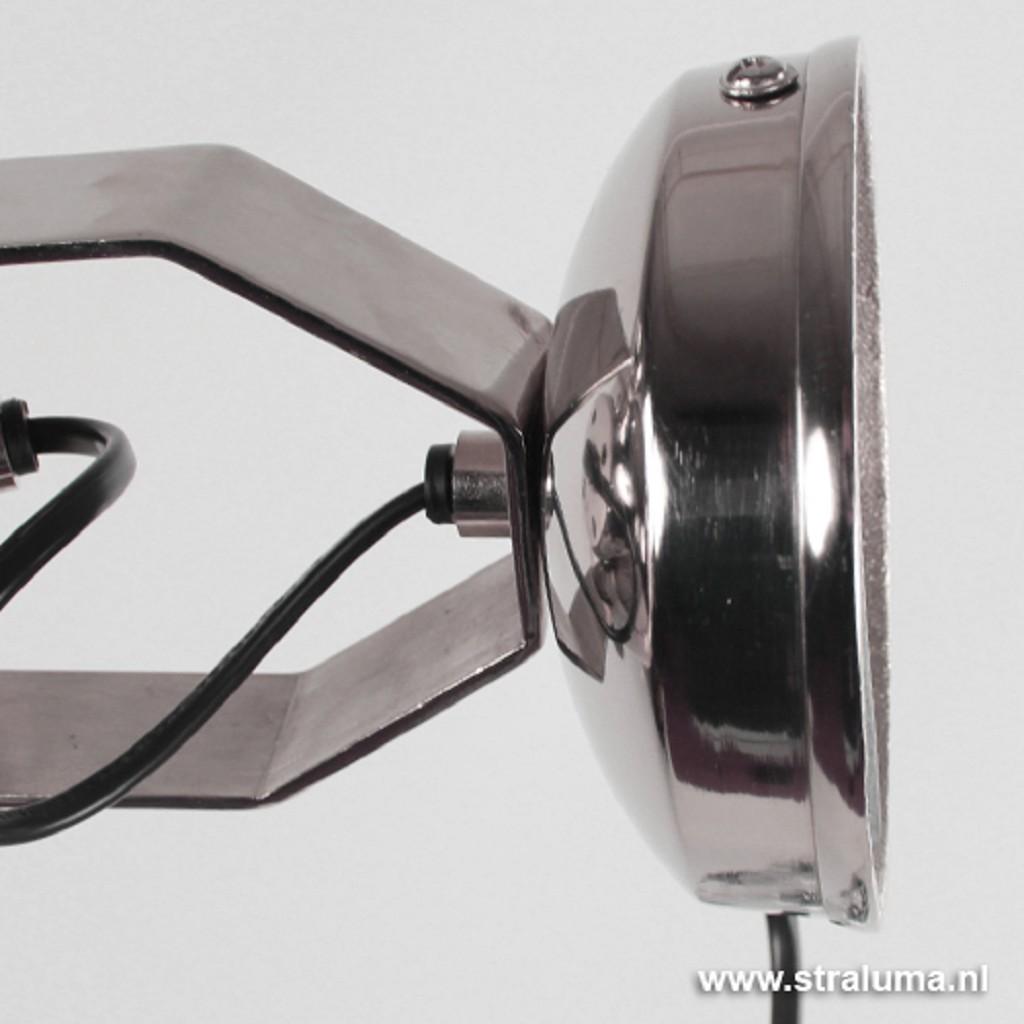 L&L wandlamp Nyborg antiek zilver