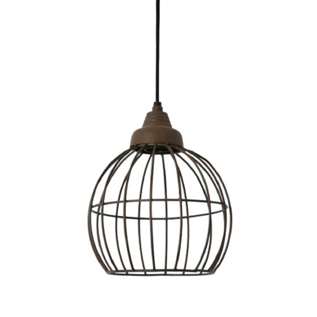 Light Living hanglamp Benthe roest