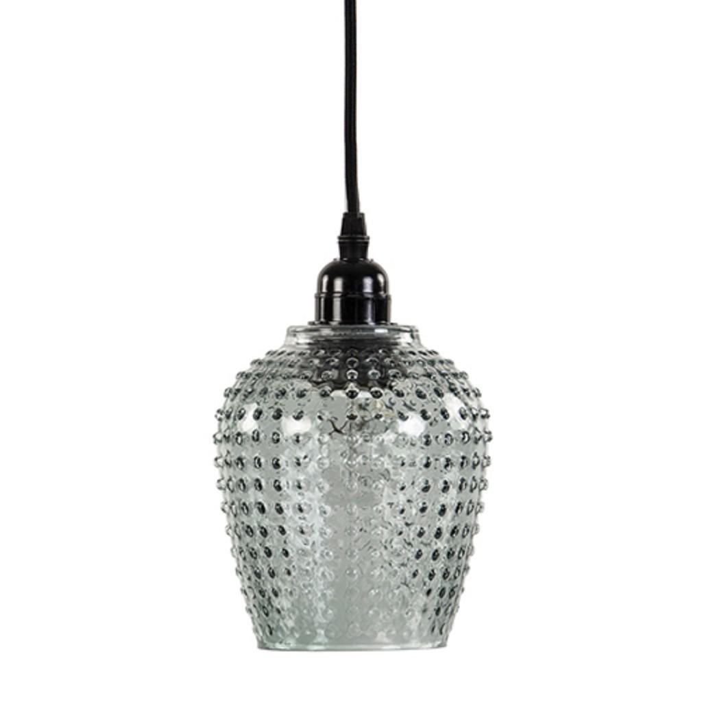 Kleine hanglamp groen glas Light&Living