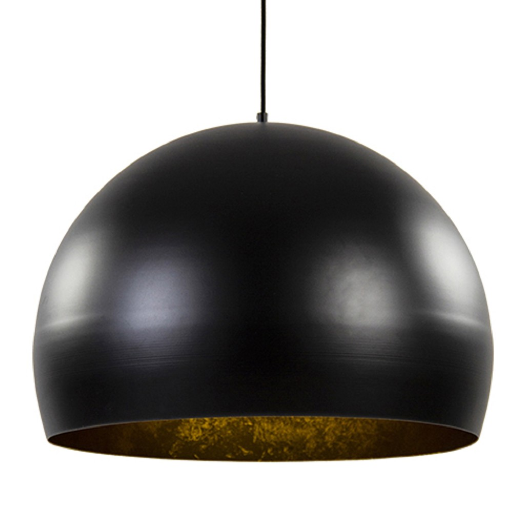 Jaicey hanglamp zwart met goud L&L