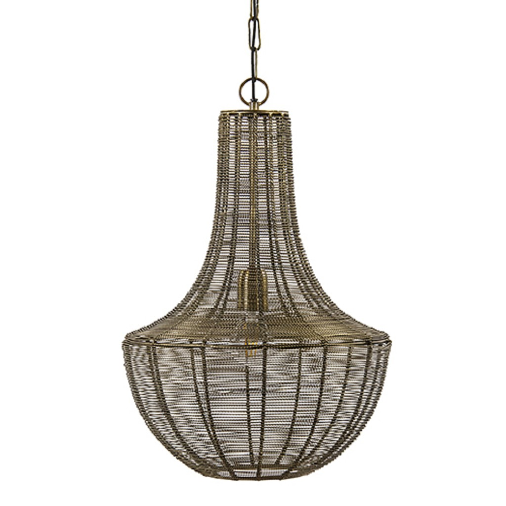 Light & Living hanglamp Khedira Brons