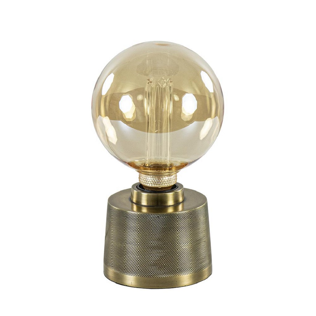 Tafellamp Sigor antiek brons excl. lichtbron