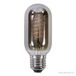 Led buis t45 6w e27 grey 2700k dimbaar