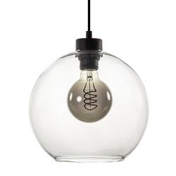 Hanglamp bol helder glas 25cm