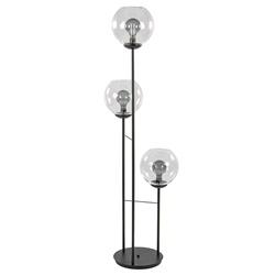 Moderne vloerlamp met glazen bollen